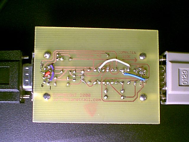 Bottom of prototype